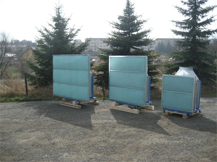 Kompakte Spritzwände der Baureihe SpotRepair & SmartRepair
